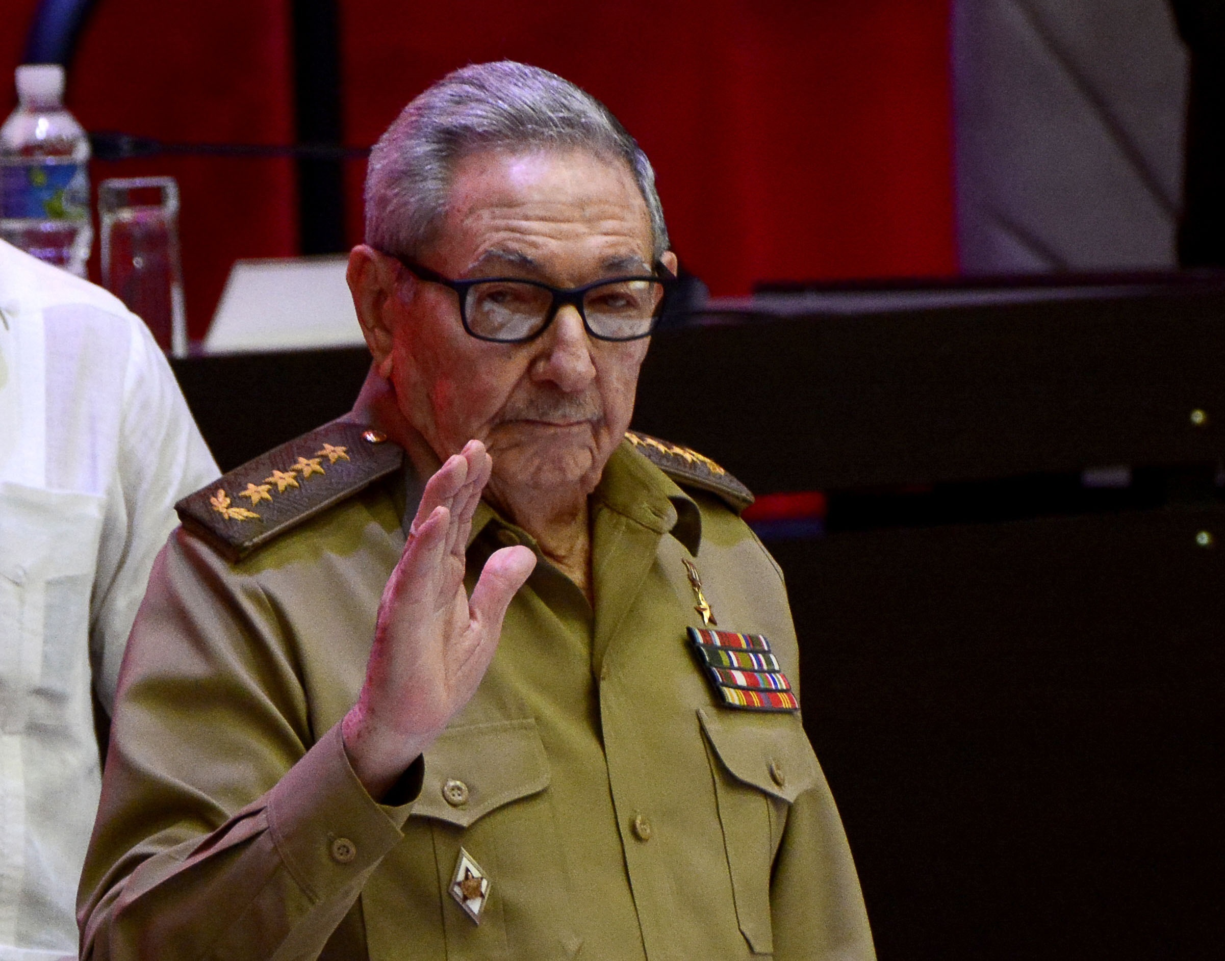 Raúl Castro, ex presidente de Cuba.