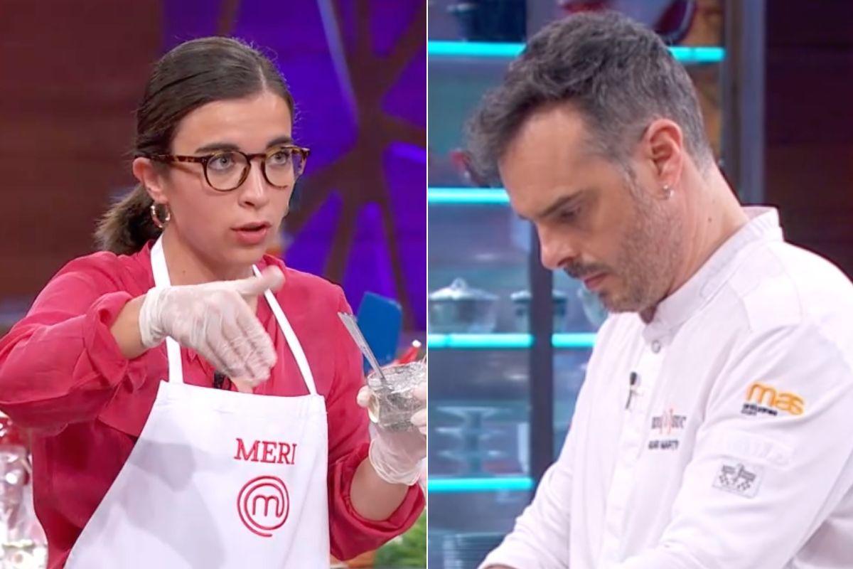 Críticas al chef Ricard Martínez por sus palabras a Meri en la final de MasterChef 9