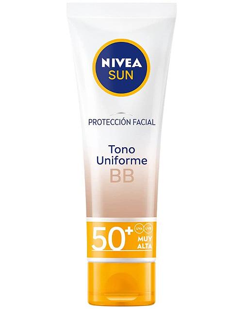 Protección facial, de Nivea Sun.