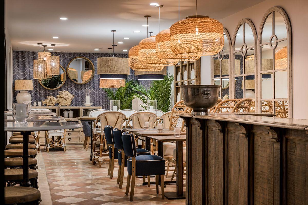 El restaurante La Bouganvilla.