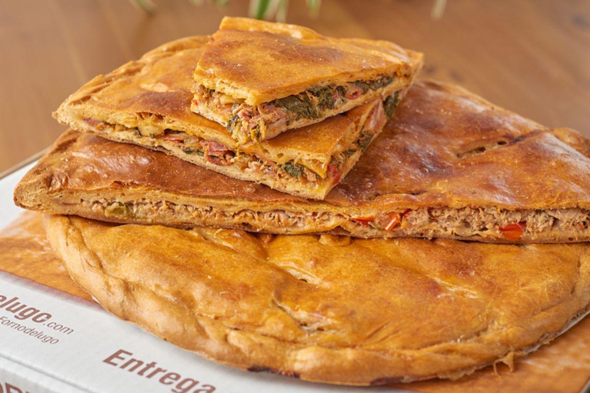 Sirven hasta 18 variedades de empanadas, hechas con productos de temporada.