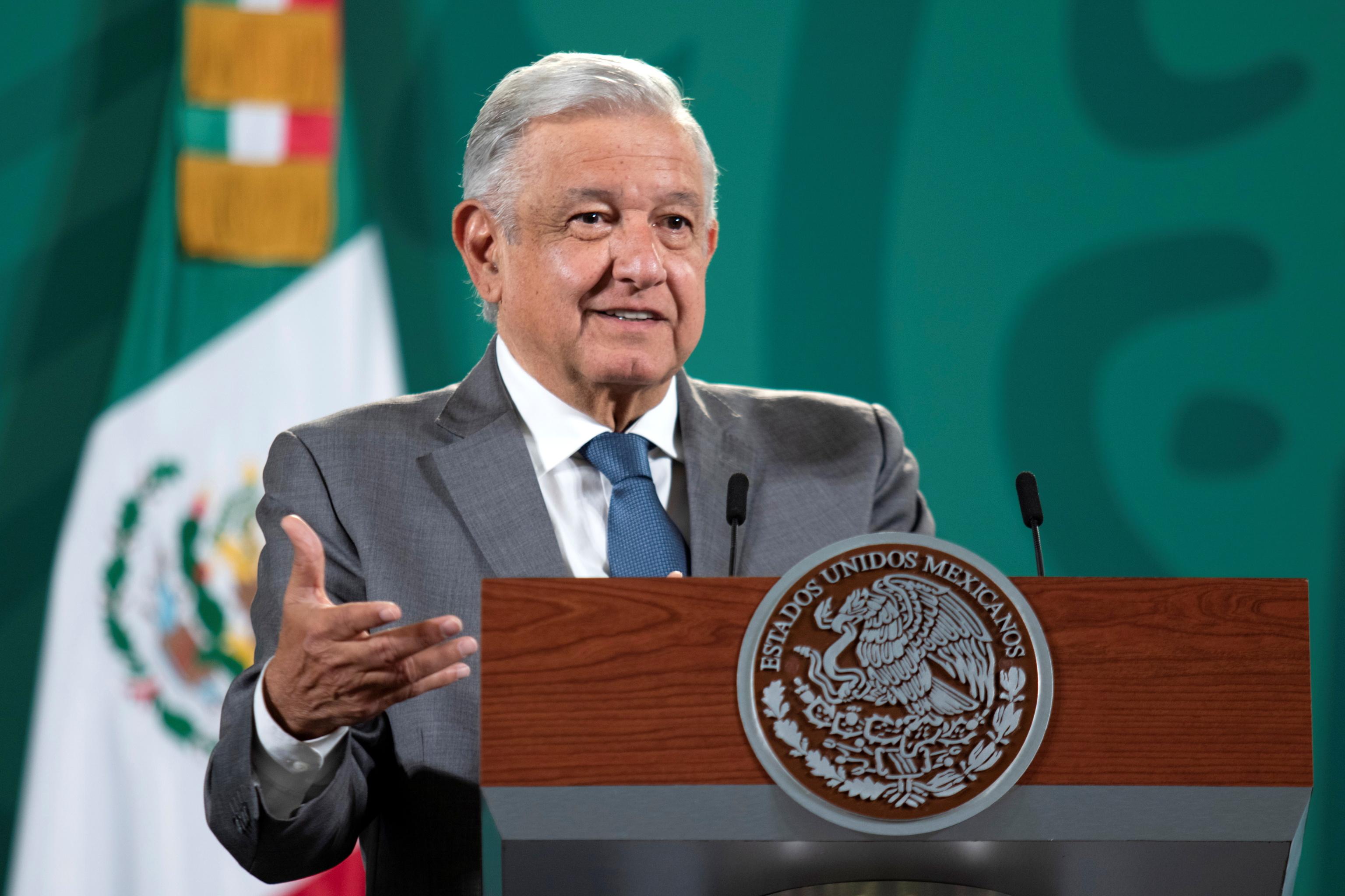 El presidente mexicano, Lopez Obrador.