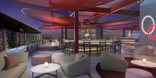 RT360, la terraza con vistas 360º del Hard Rock Hotel.