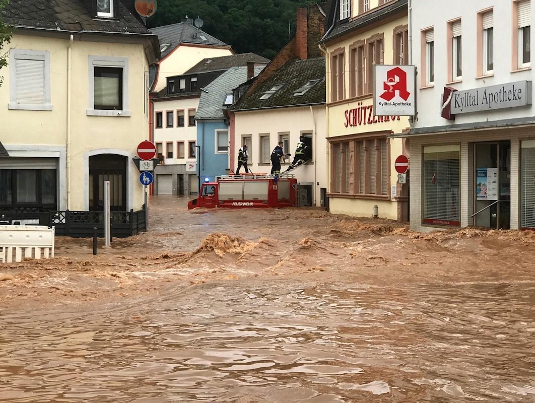 El Gobierno alemán atribuye las graves inundaciones al cambio climático:  ¿qué dice la ciencia? | Medio Ambiente