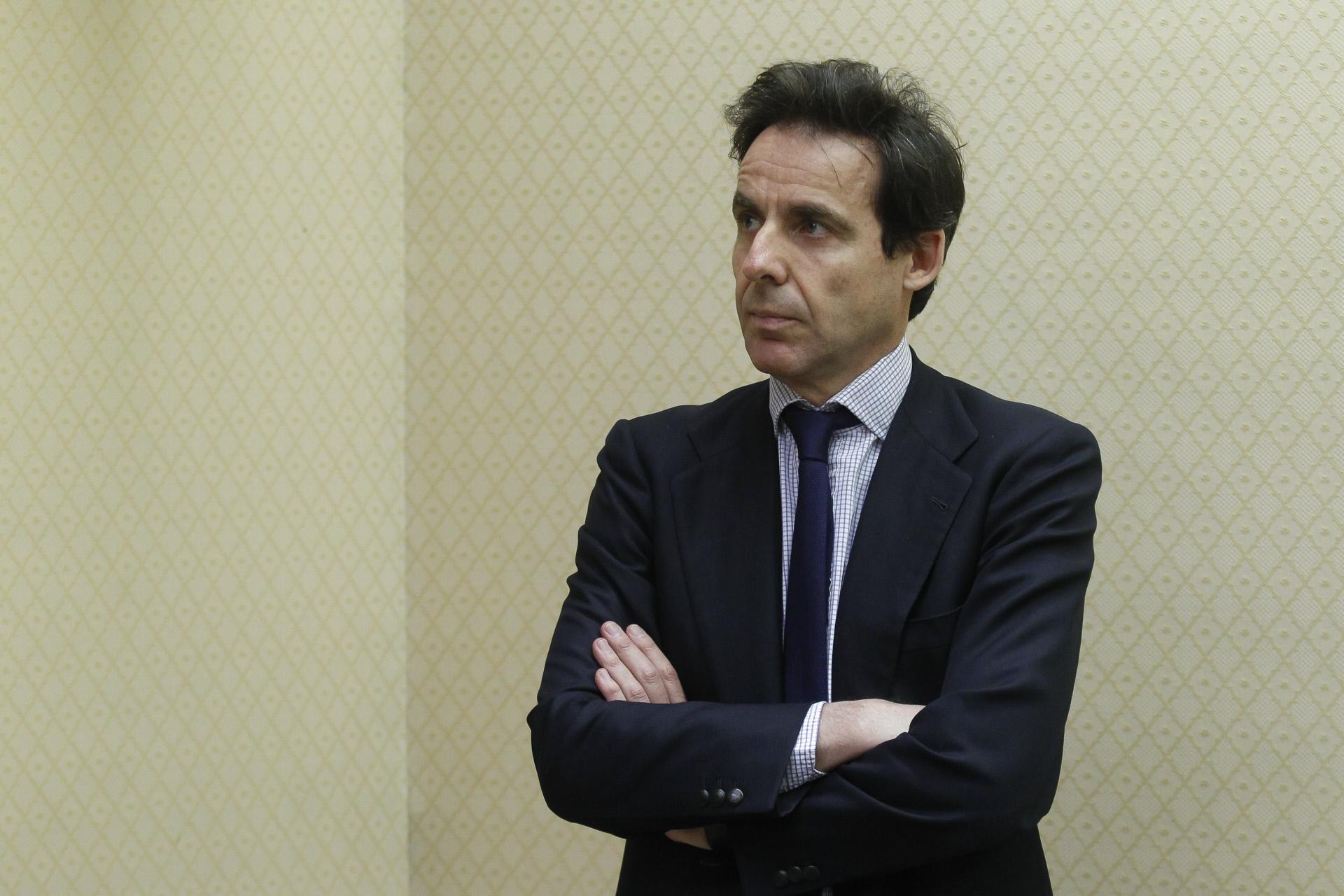López Madrid en una Comisión de Investigación en el Congreso.