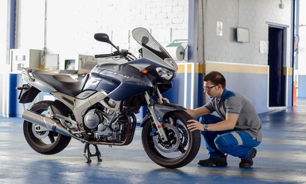 Mas de la mitad de las motos en España no acuden a pasar la ITV