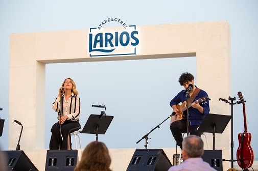 Sole Giménez en el concierto Atardeceres Larios en Málaga