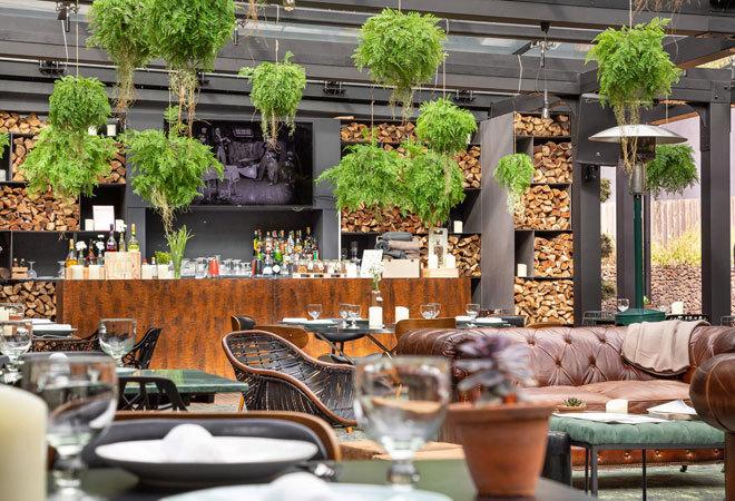 Restaurante del Furnas Boutique Hotel que organiza la clase de cocina.