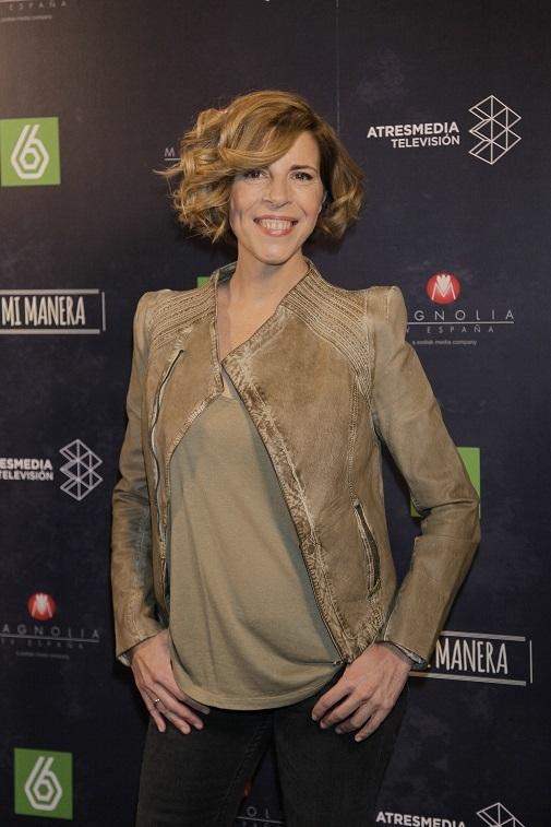 Sole Giménez en la presentación del programa de televisión 'A mi manera'