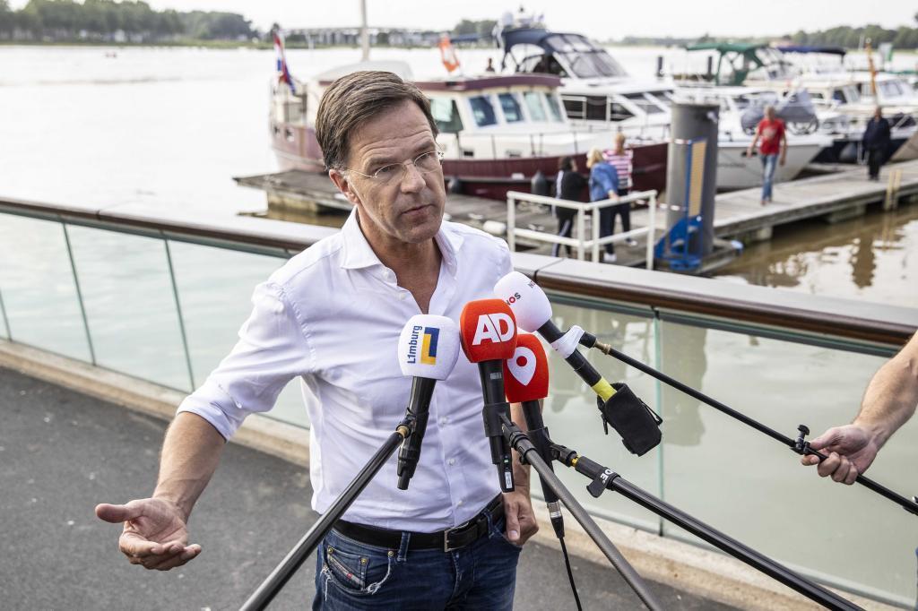 El primer ministro de Países Bajos, Mark Rutte.