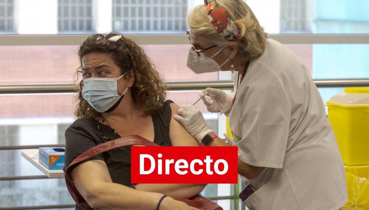 Coronavirus España en directo | La mitad de la población española ya ha recibido la pauta completa de vacunación