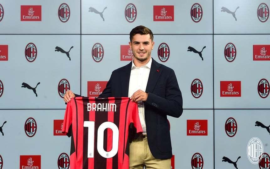 Brahim Díaz en su vuelta al Milan
