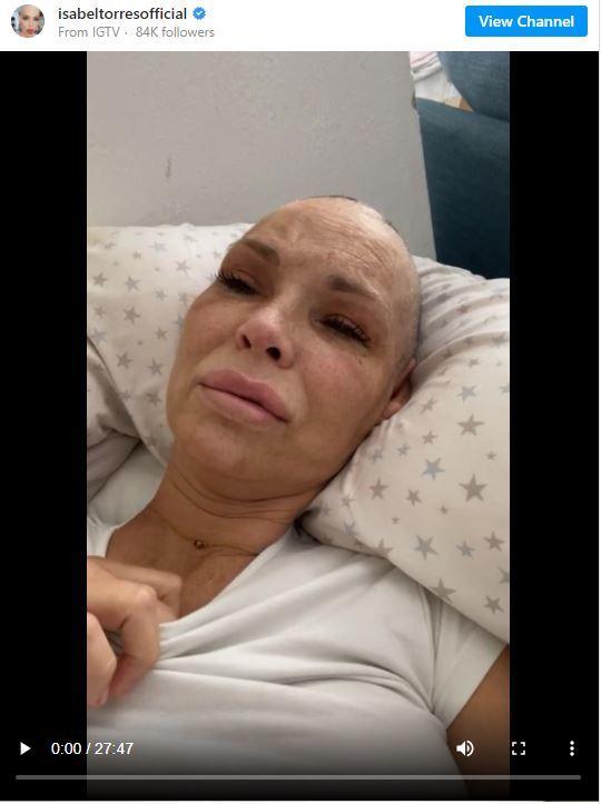 Isabel Torres ('Veneno') se derrumba al hablar de su cáncer