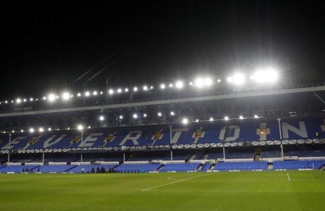 Goodison, Park, el estadio del Everton, en marzo de 2020.