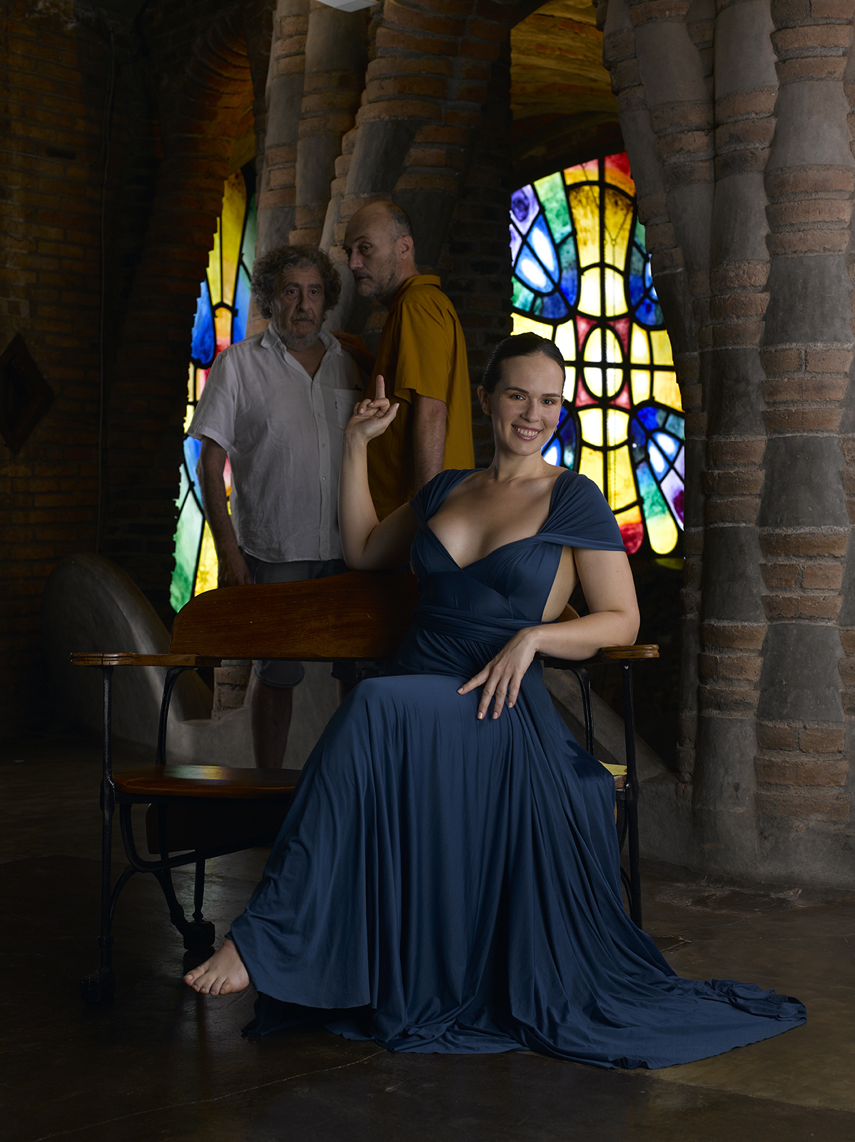 'Gaia y los viejos' es una reinterpretación del episodio bíblico 'Susana y los viejos'.
