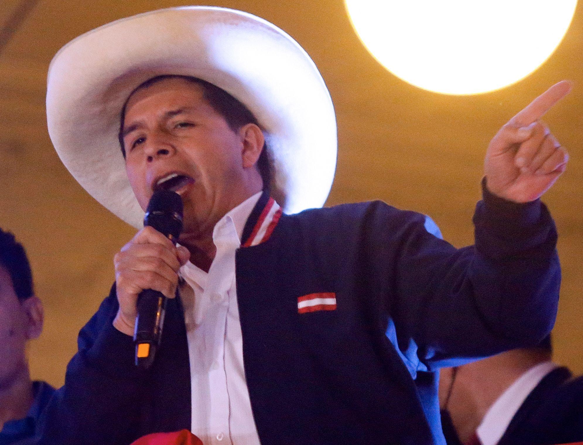 Perú: el chavismo y el castrismo ganan un aliado con Castillo