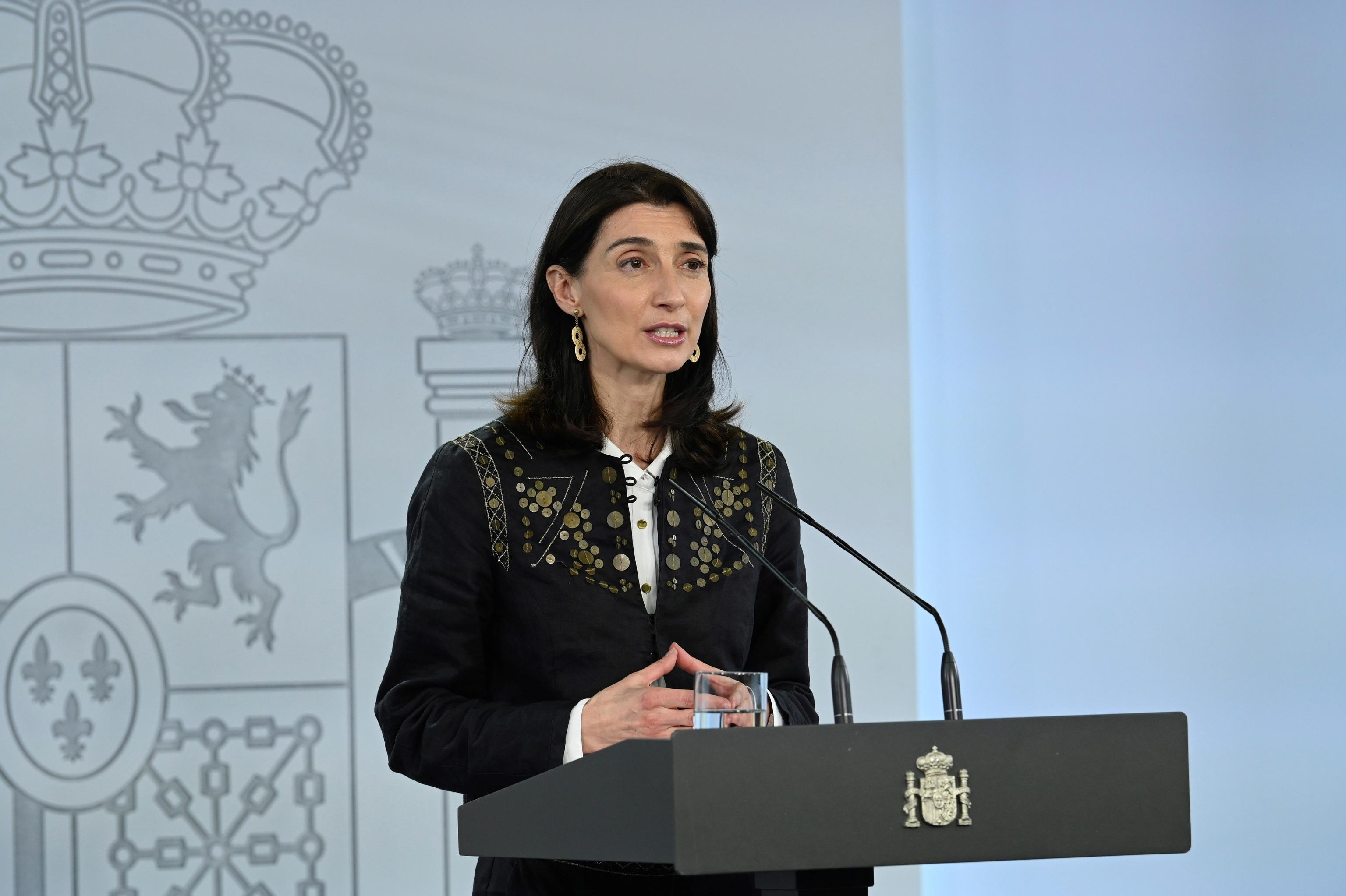 La ministra Pilar Llop.