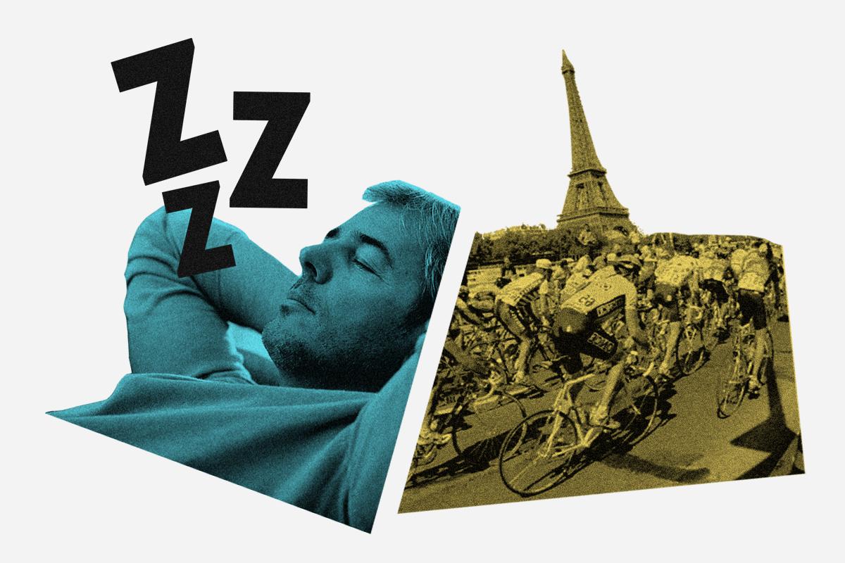 El deporte nacional español: tres de cada cuatro españoles prefieren dormir la siesta a ver el Tour