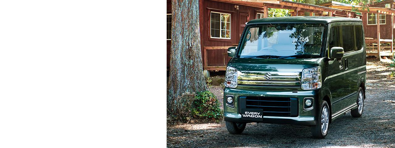 El kei kar Suzuki Every Wagon