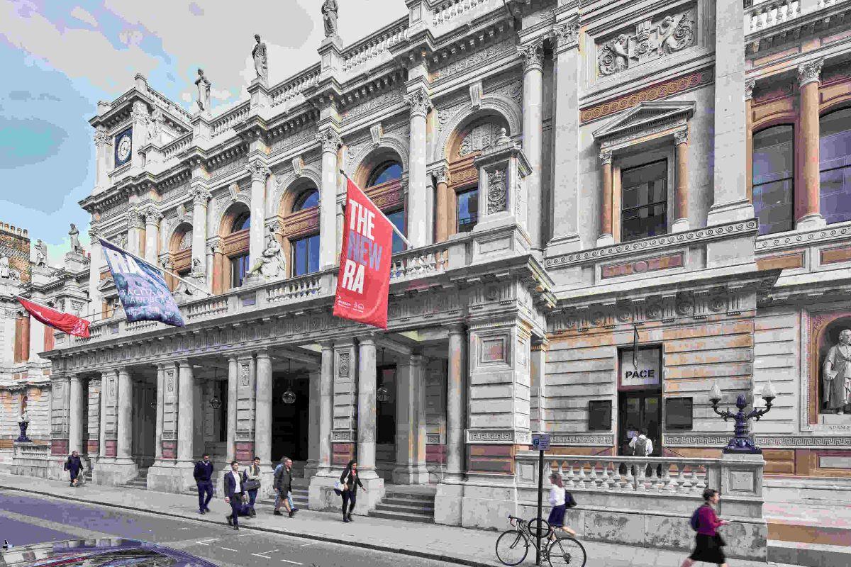 La Royal Academy of Arts de Londres.