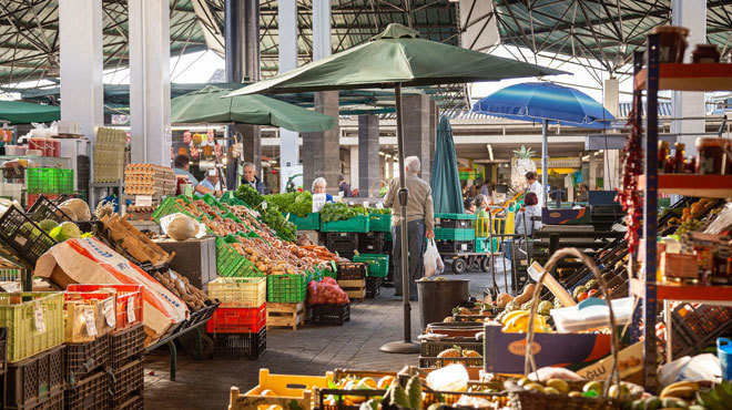 El mercado de Graça de Ponta Delgada.