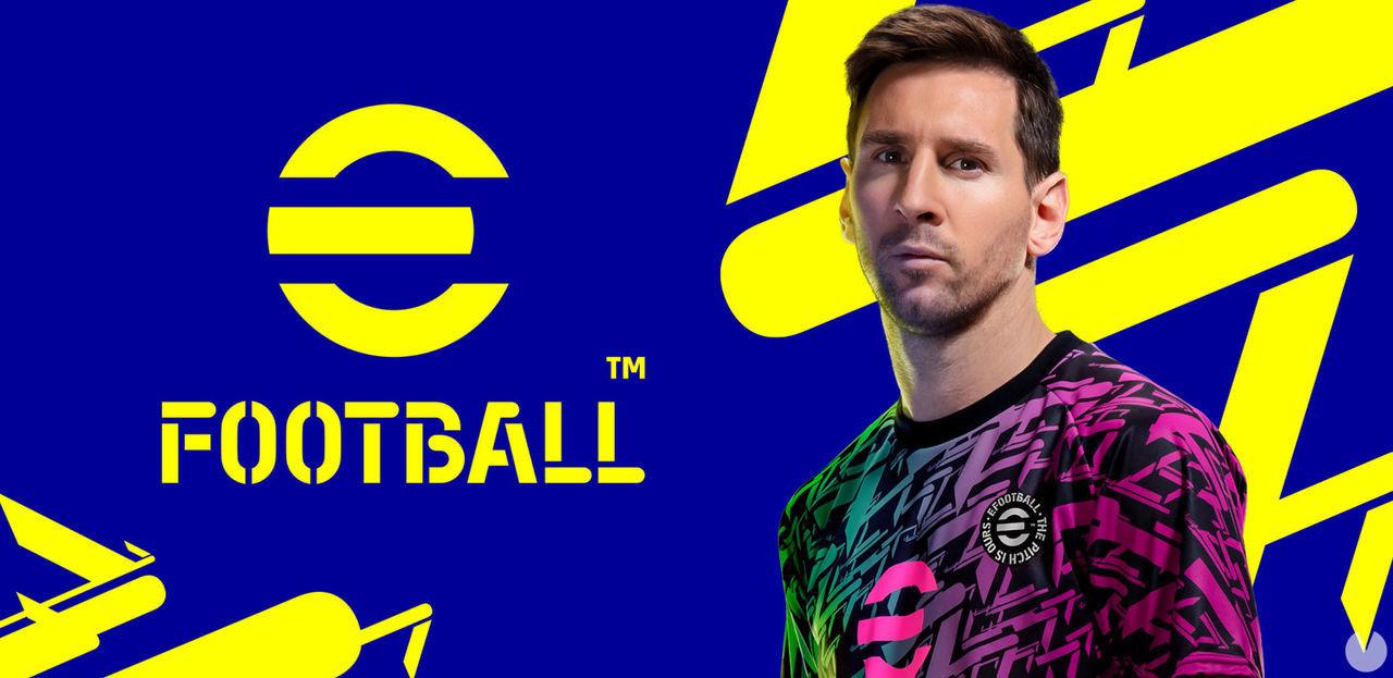 Leo Messi, utilizado como reclamo en la resentación de eFootball, heredero del mítico Pro Evolution Soccer.