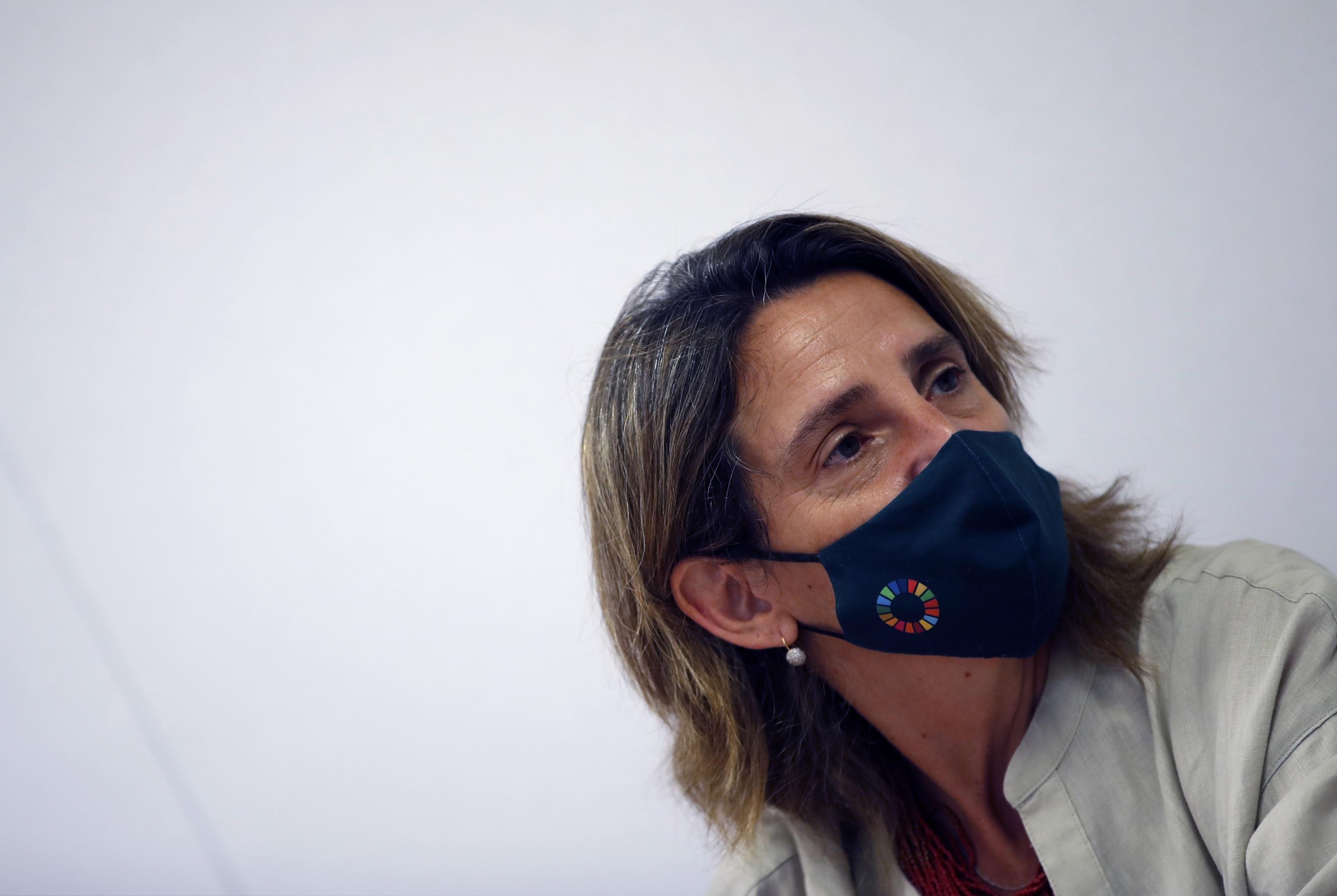 La minsitra Teresa Ribera.