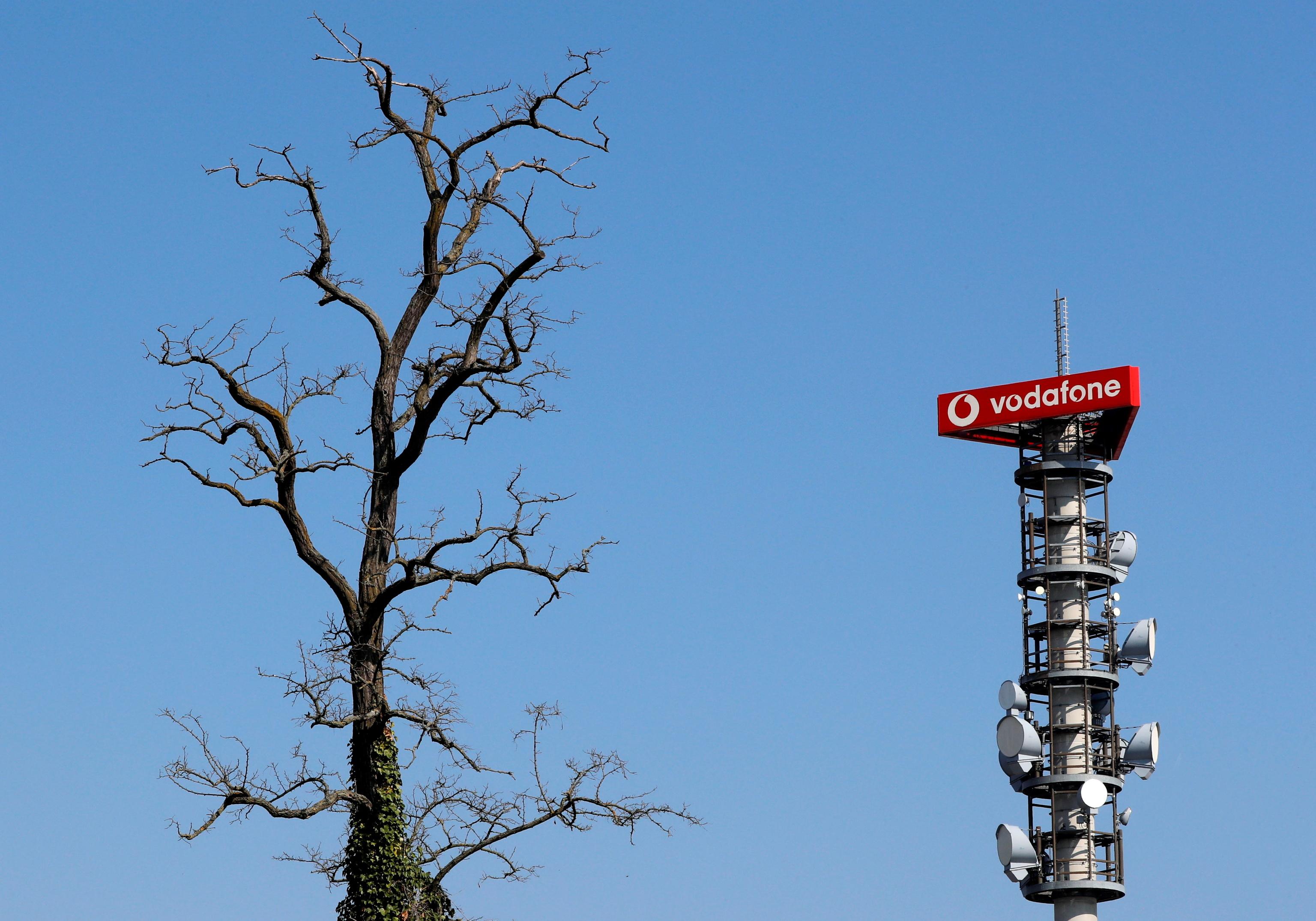 Antena de Vodafone.