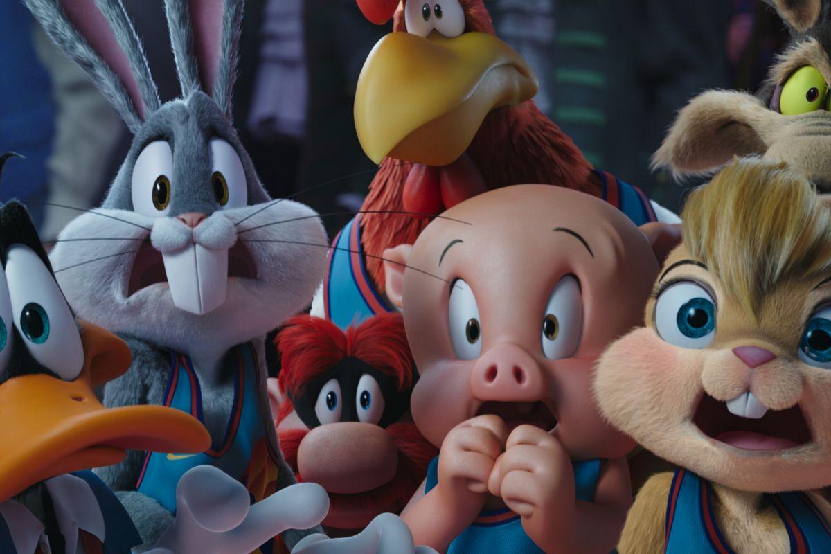 Los famosos personajes de Looney Tunes aparecen en la película.