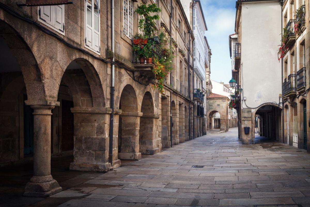 Calles de la Ciudad Vieja.