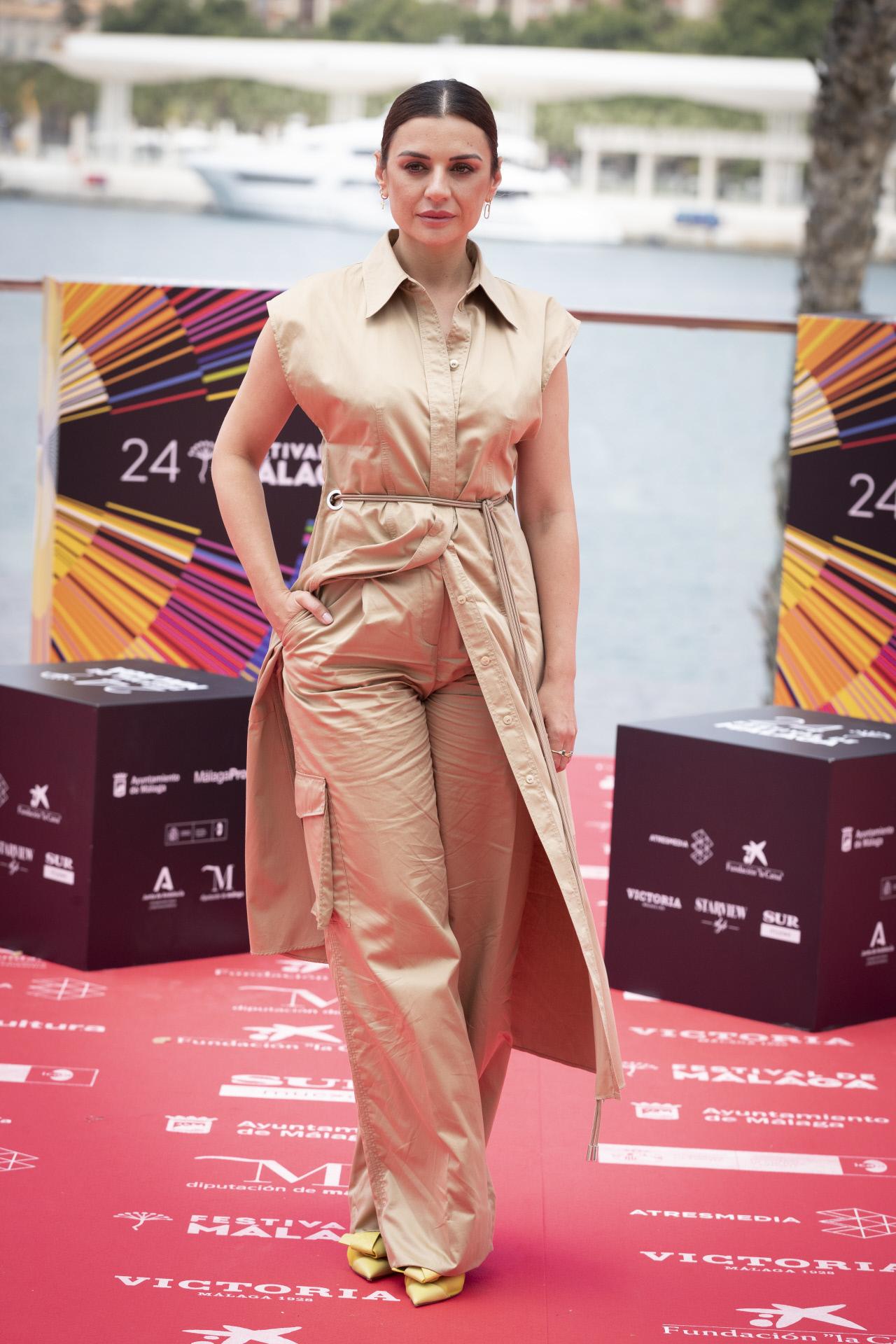 La actriz Miren Ibarguren.