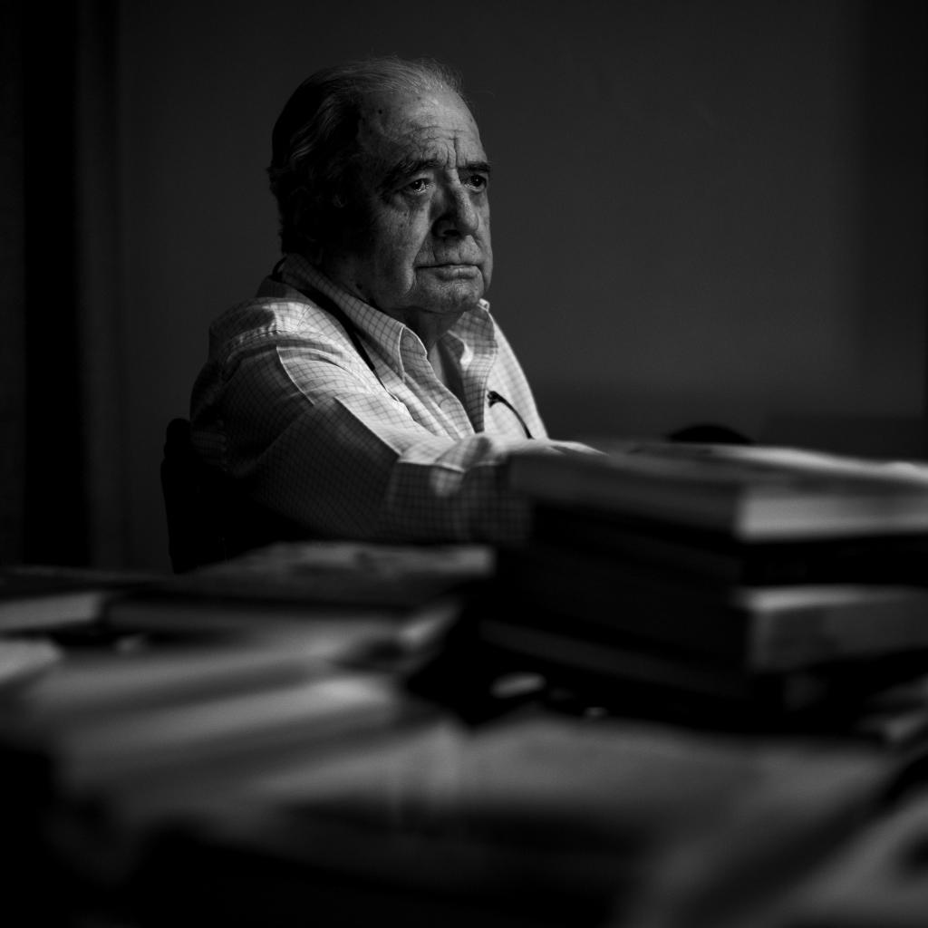 Joaquín Bardavío, durante una entrevista en 2019.