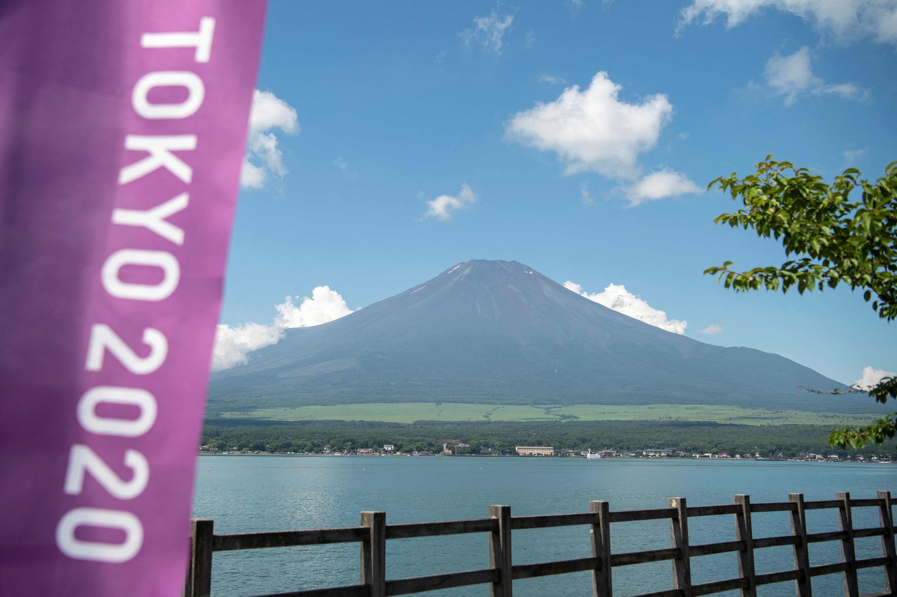El Monte Fuji, con sus 3.776 metros, desde el Lago Yamanaka.