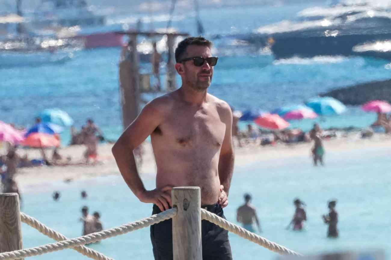 Arturo Valls, en Ibiza