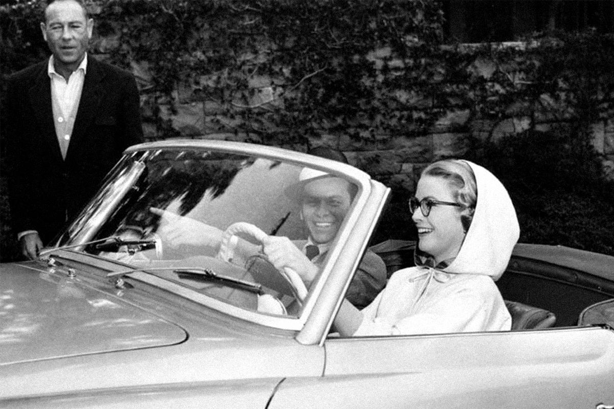 Grace Kelly con Frank Sinatra, con quien rodó 'Alta sociedad'.