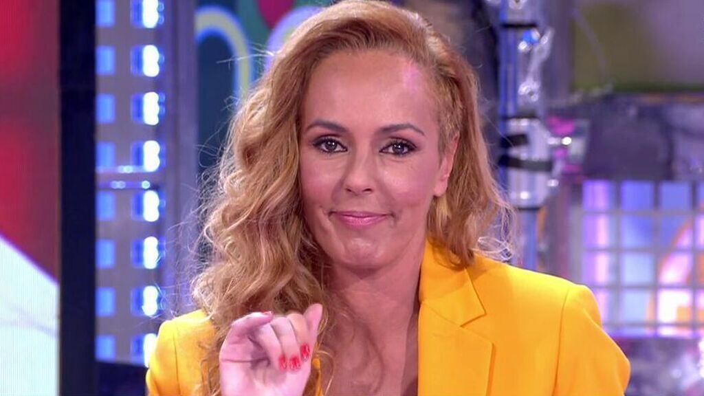 Rocío Carrasco desde 'Sálvame' en su sección 'Hable con ella'