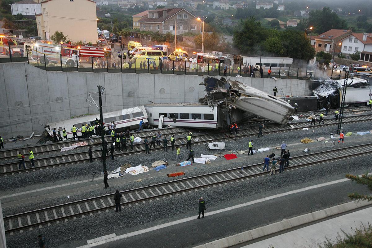 El accidente del Alvia, el 24 de julio de 2013.
