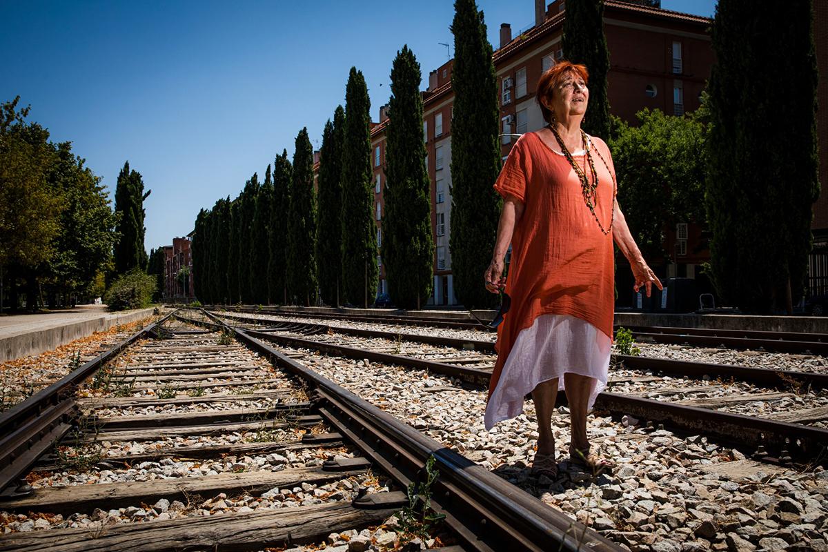 Pilar Careaga, madre de Carla Revuelta, fallecida en el accidente.