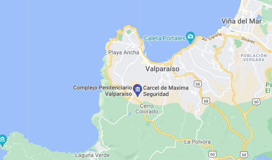 Seis reclusos se fugan de la cárcel chilena de Valparaíso
