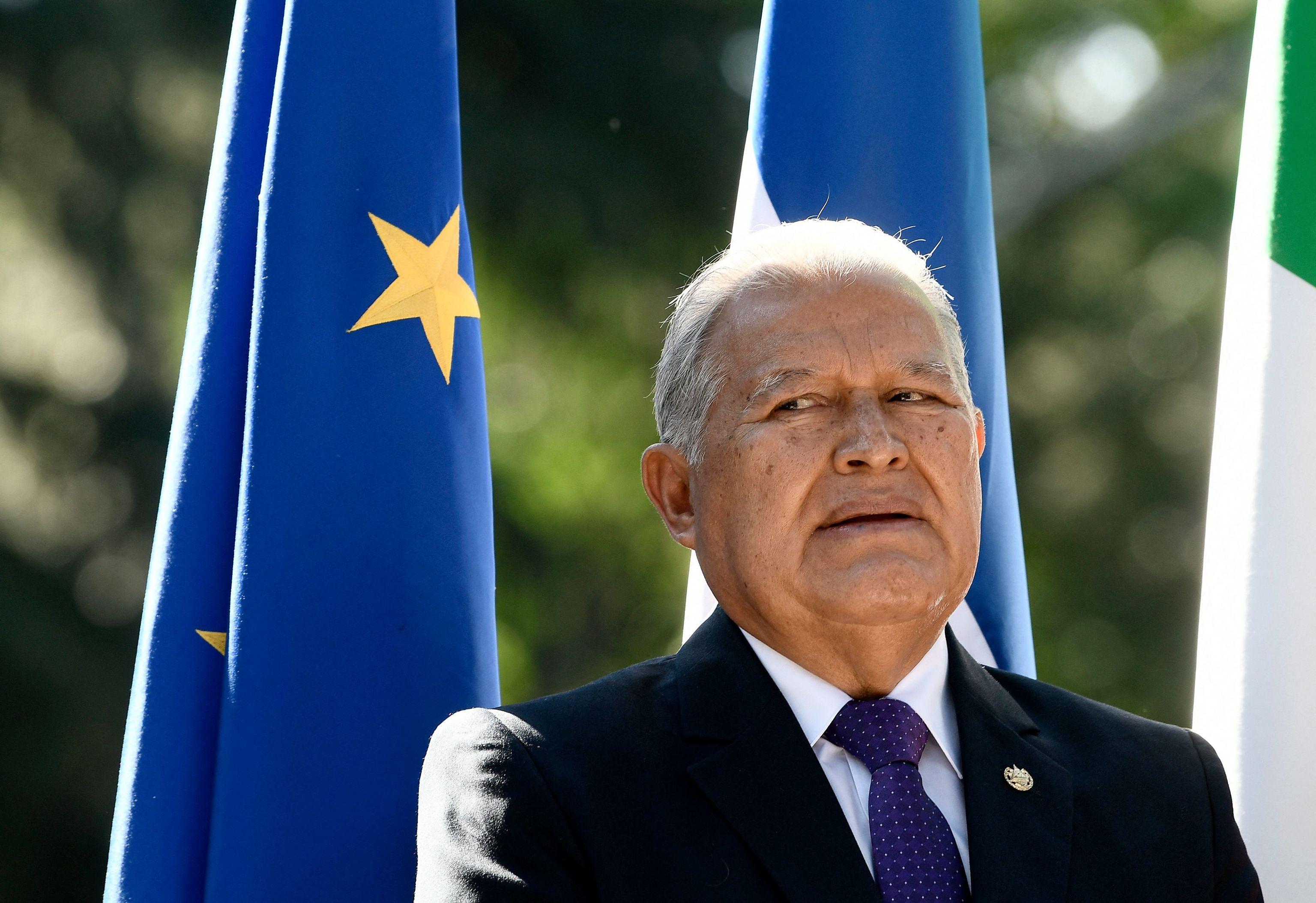 El ex presidente de El Salvador, Salvador Sánchez Cerén, en una imagen de 2018.