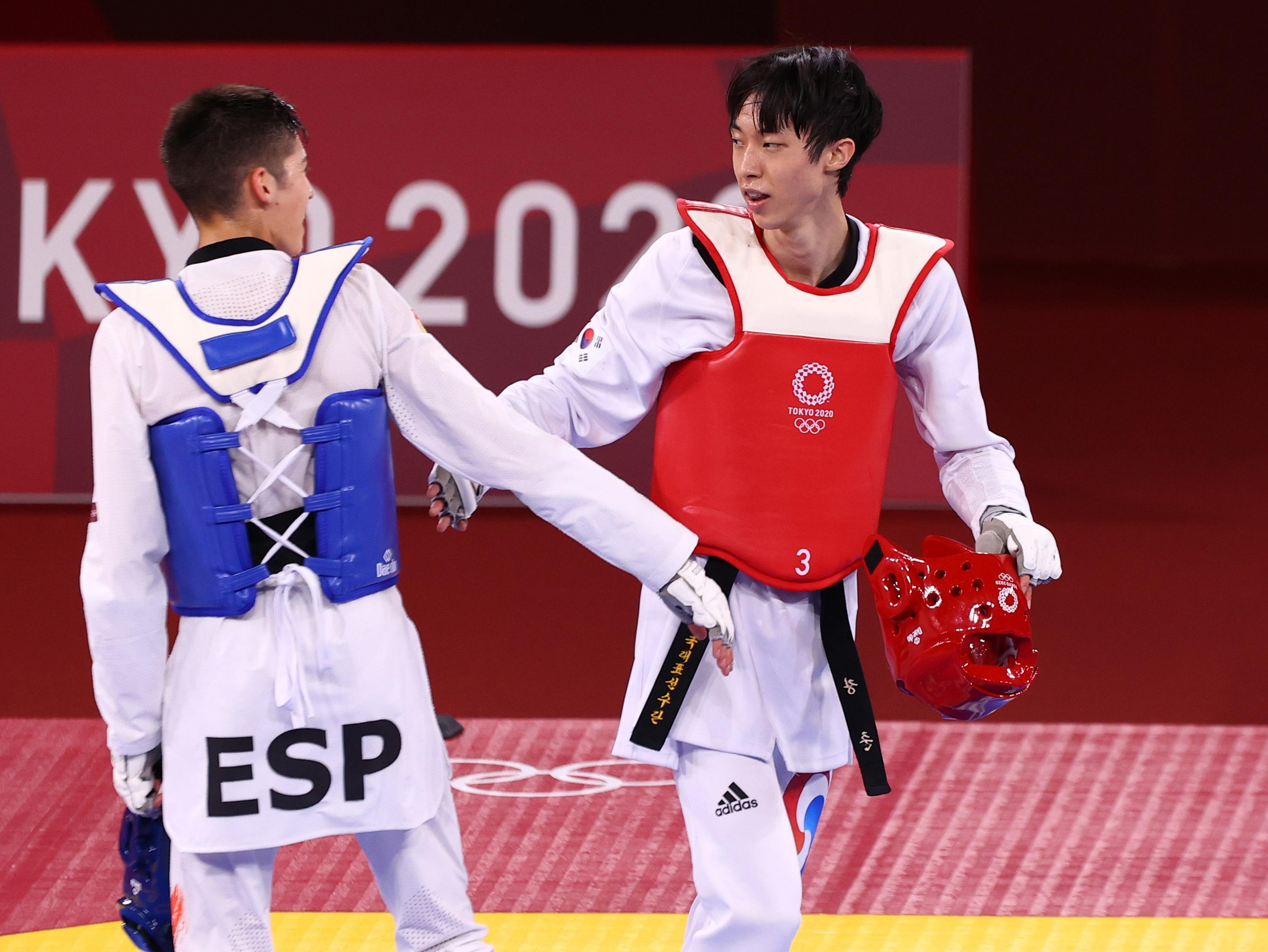 Adrián Vicente - Taekwondo- Juegos Olímpicos 2021 - Tokio 2020