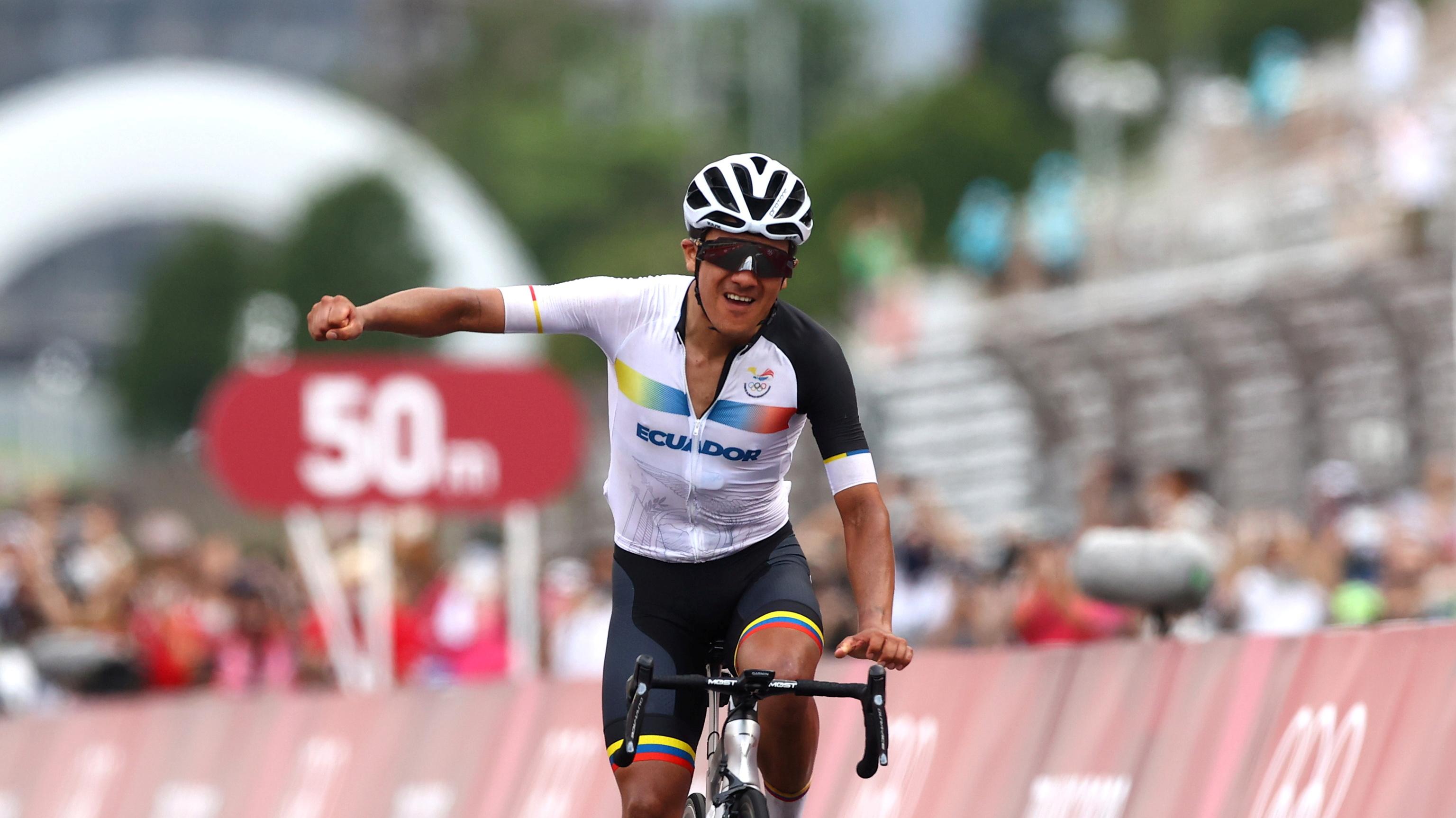 Carapaz- Ciclismo- Juegos Olímpicos 2021 - Tokio 2020