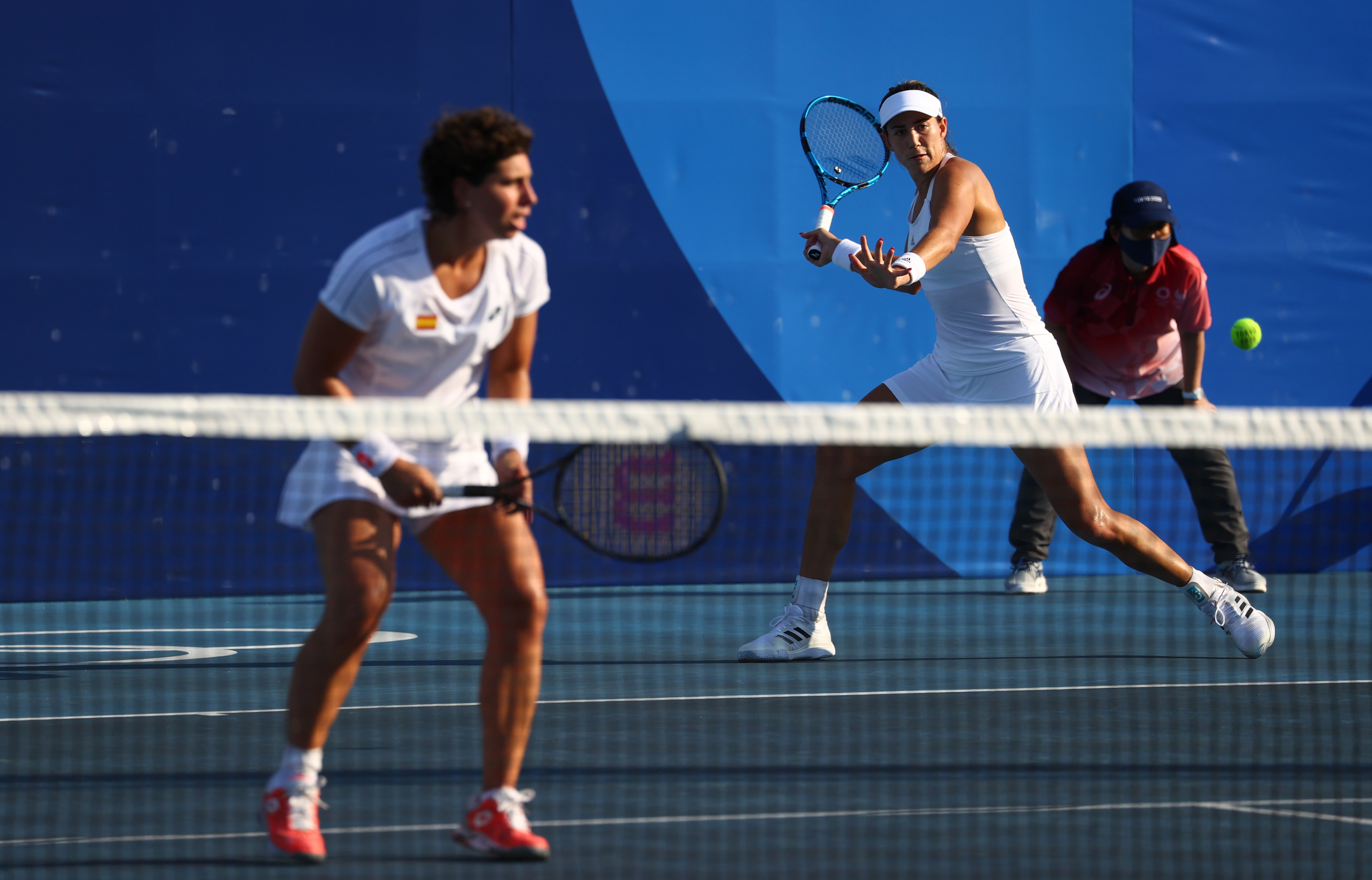 Carla Suárez Garbiñe Muguruza - Tenis - Juegos Olímpicos 2021 - Tokio 2020