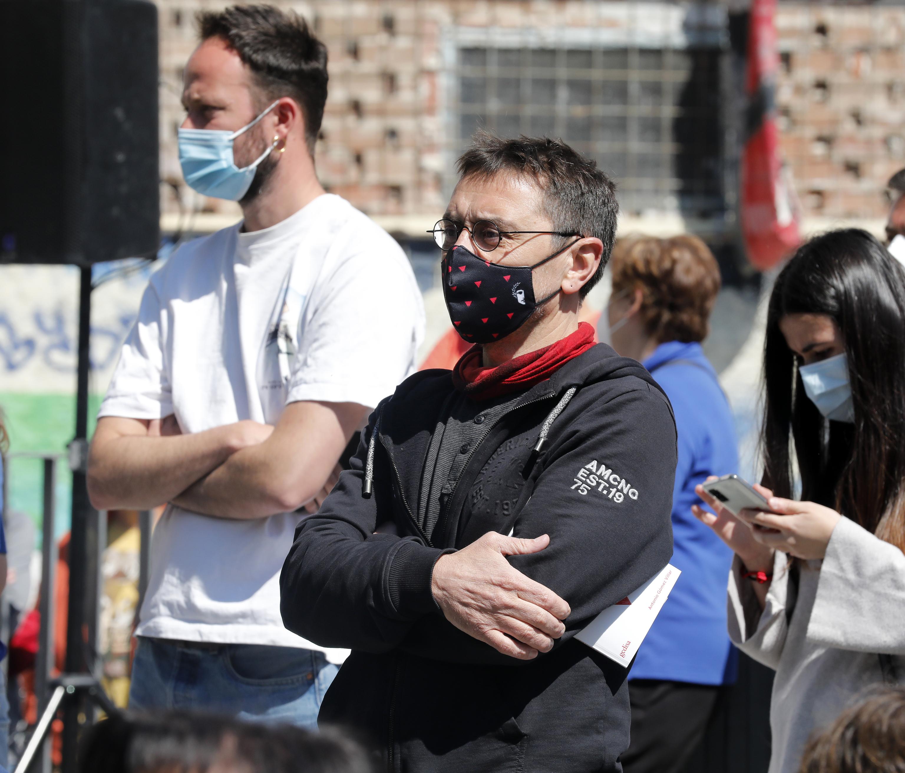 Juan Carlos Monedero, cofundador de Podemos.