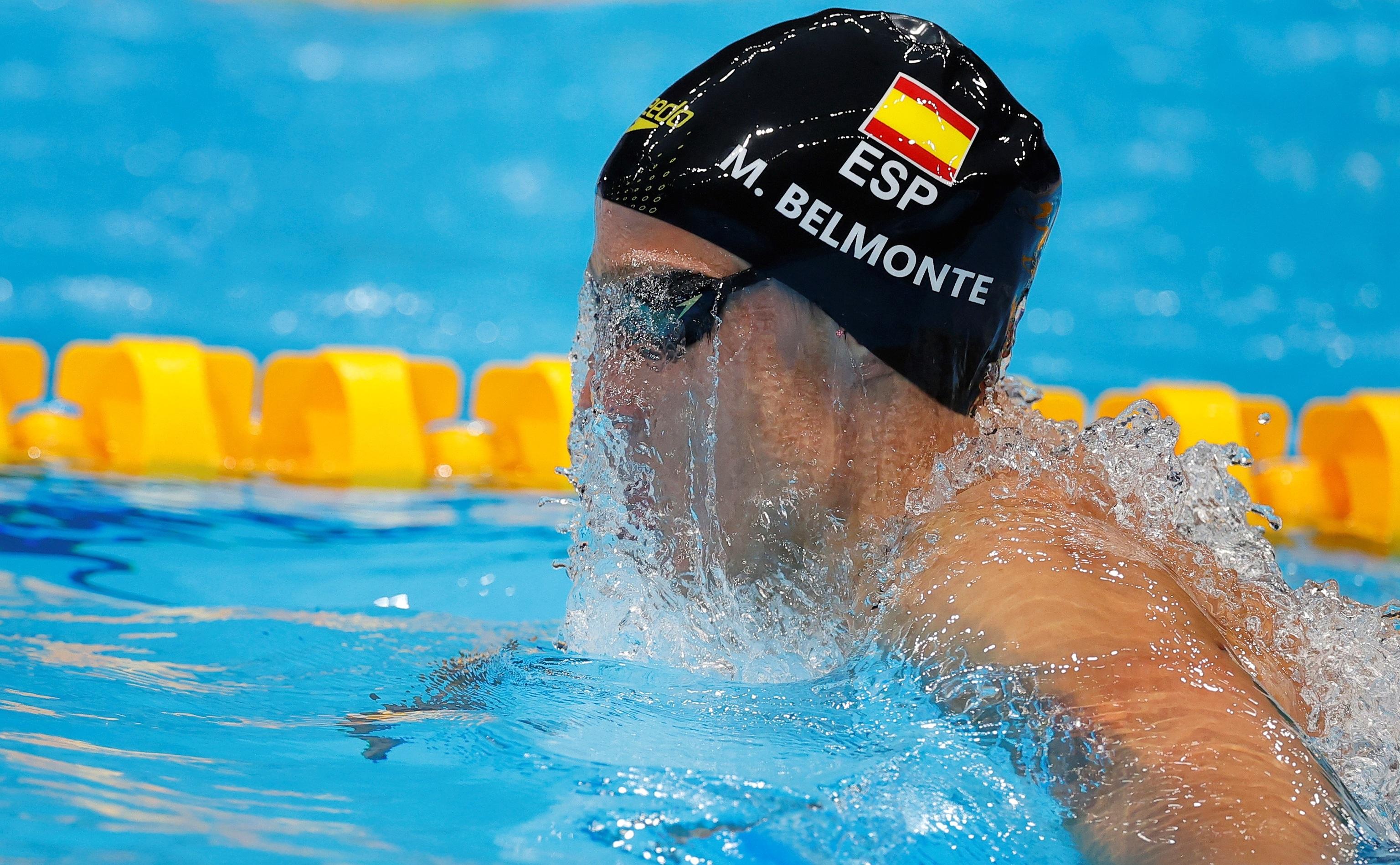 Mireia Belmonte, durante los Juegos.