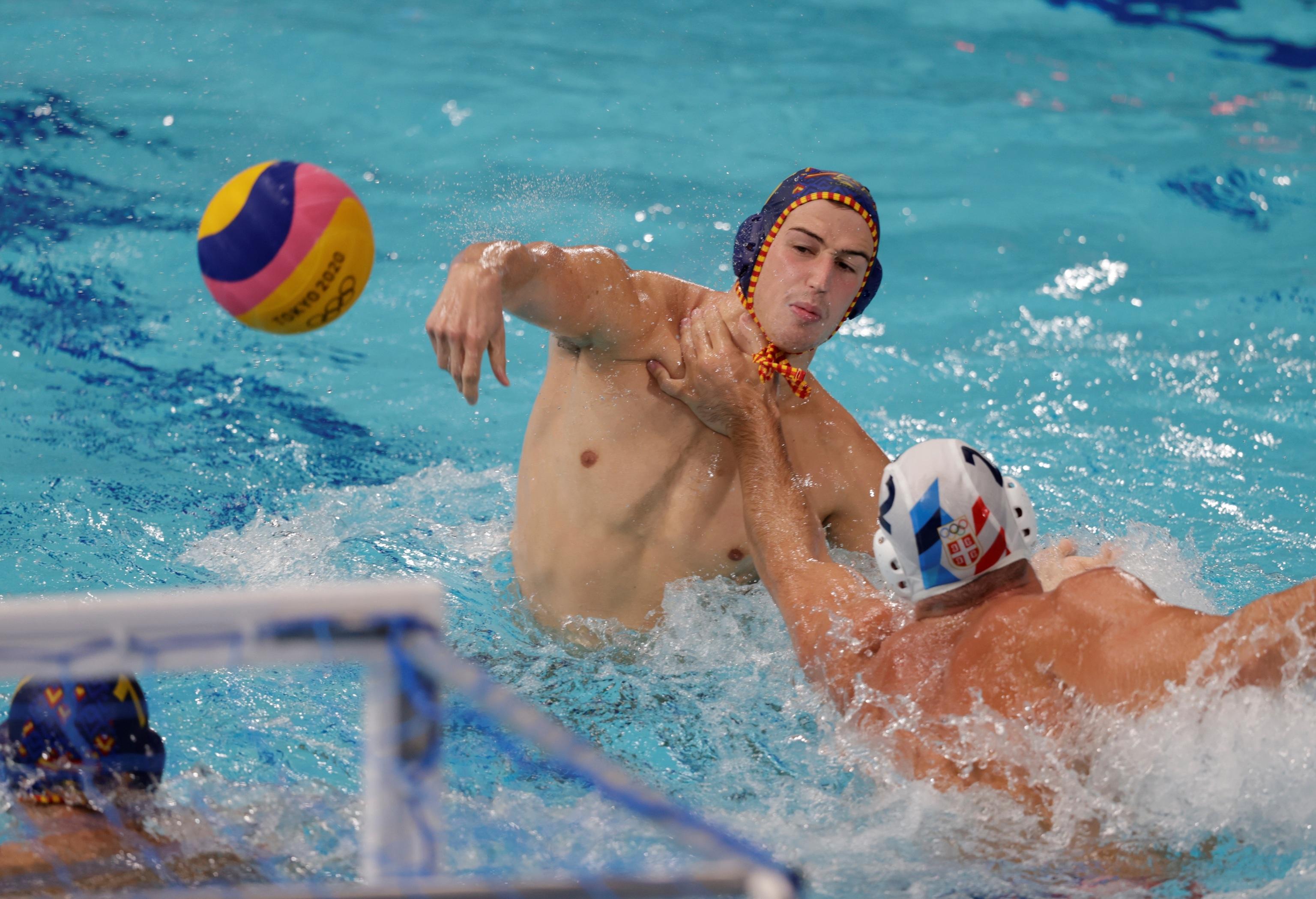 España Serbia - waterpolo - Juegos Olímpicos 2021 - Tokio 2020