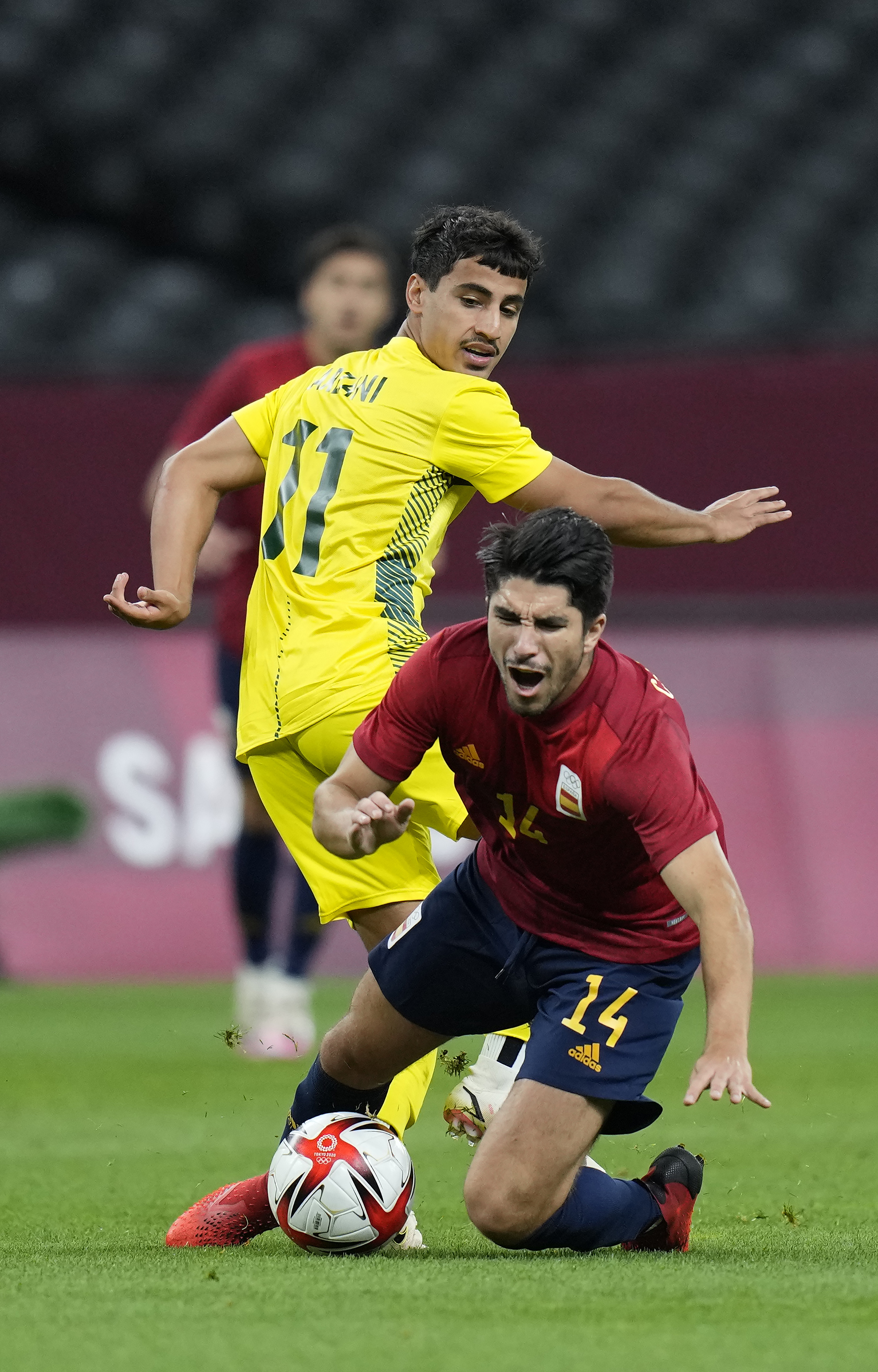 España Australia - fútbol - Juegos Olímpicos 2021 - Tokio 2020
