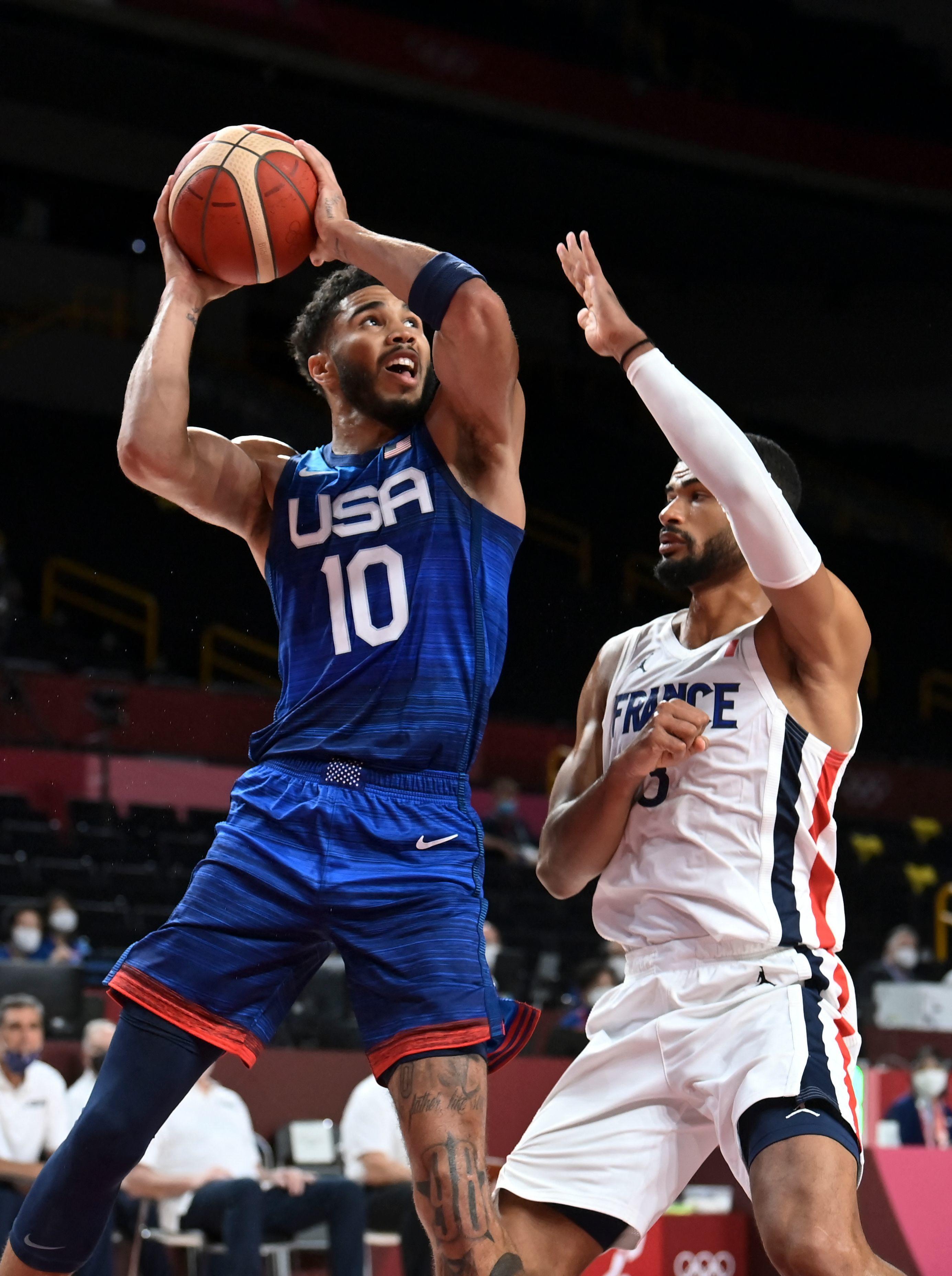 Francia Estados Unidos - baloncesto - Juegos Olímpicos 2021 - Tokio 2020