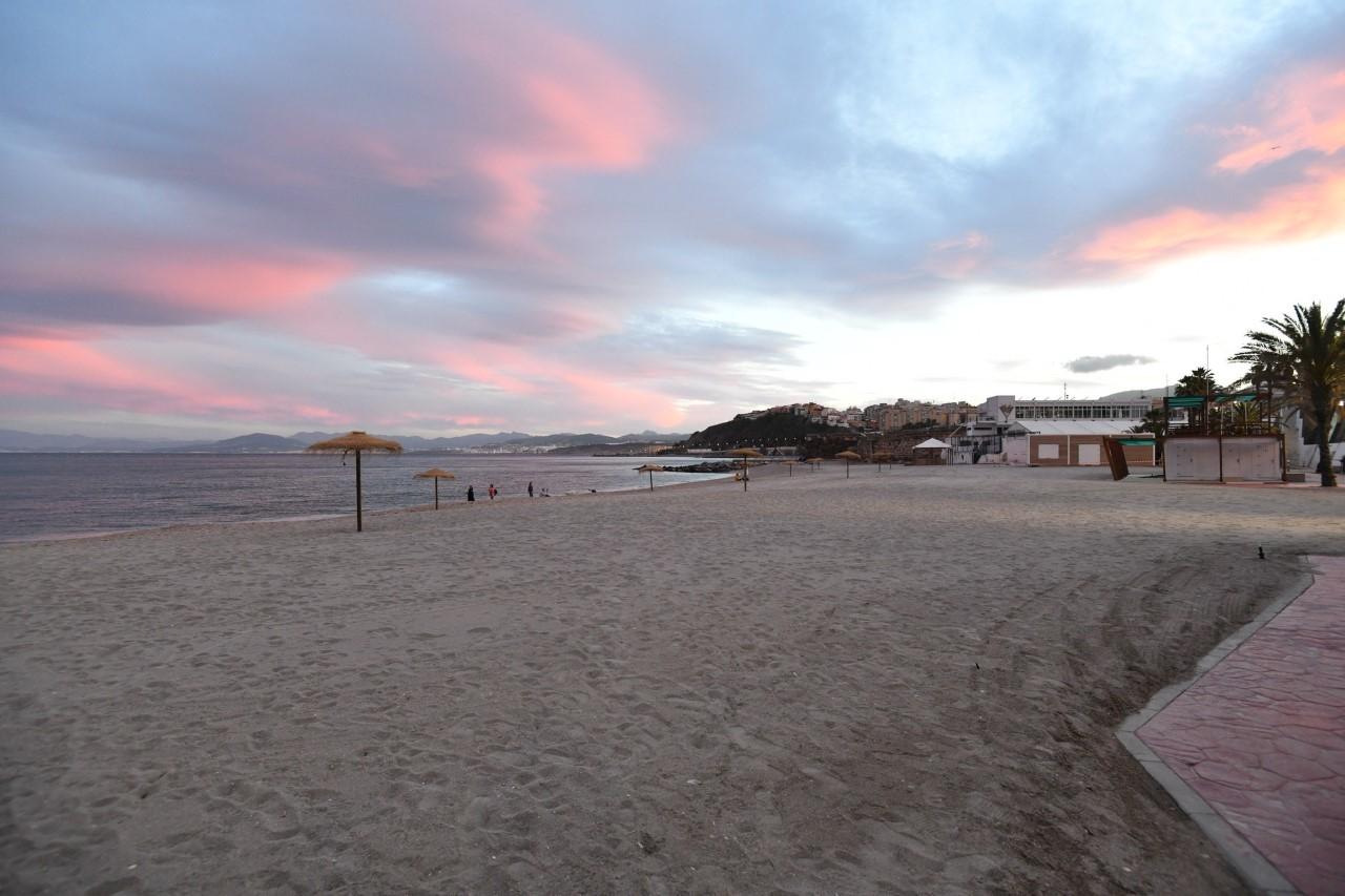Playa de la Ribera, donde ocurrió la agresión
