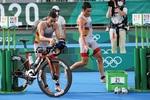 """Golpes en el agua y una otitis, las razones de la decepción española en el triatlón: """"Es frustrante"""""""